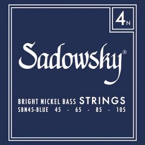 Sadowsky Blue Label Bright Nickel Strings